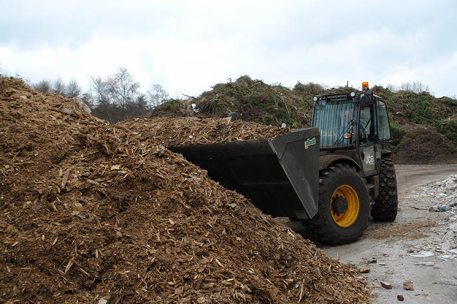 Waste Wood Reprocessing