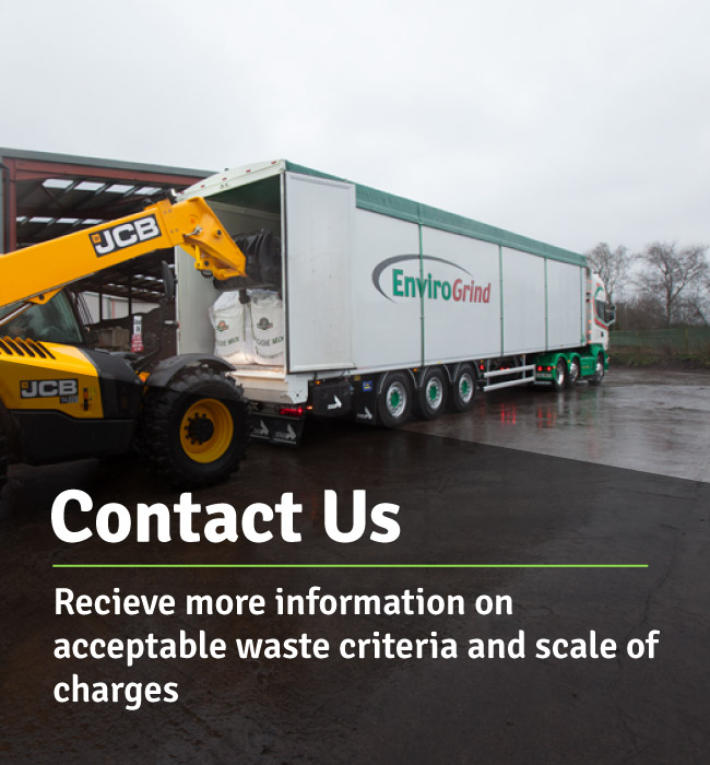 Contact us for information on accept;e waste criteria and sale of charges